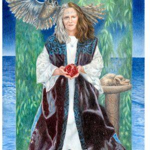 Gaian Tarot Priestess