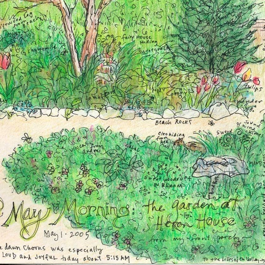 May Morn, nature journal details